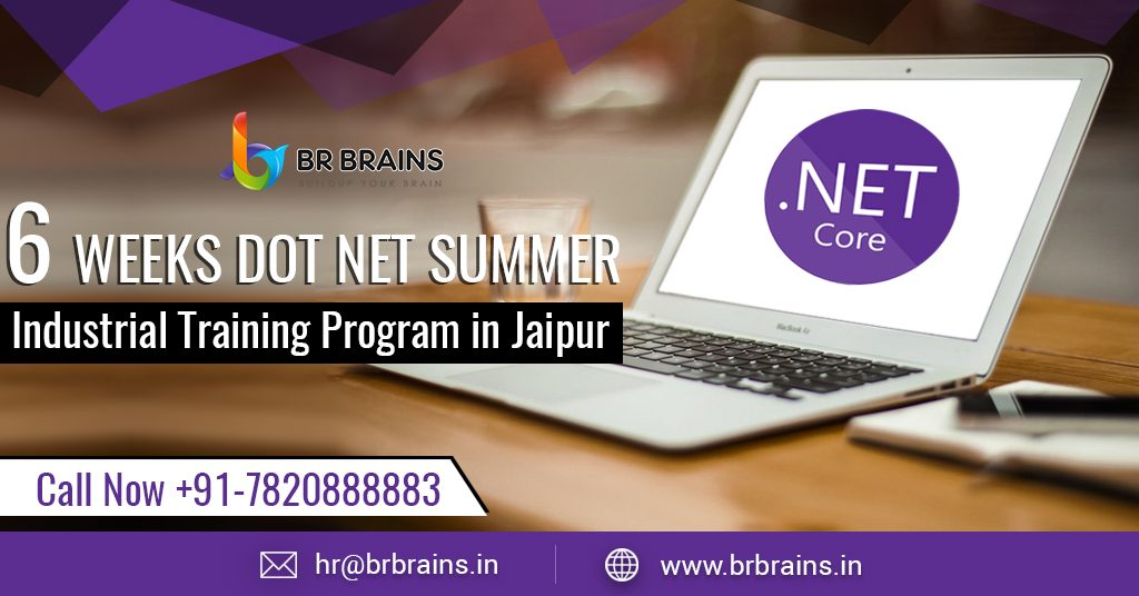 6 Weeks Dot Net Summer Industrial Training Program in Jaipur
