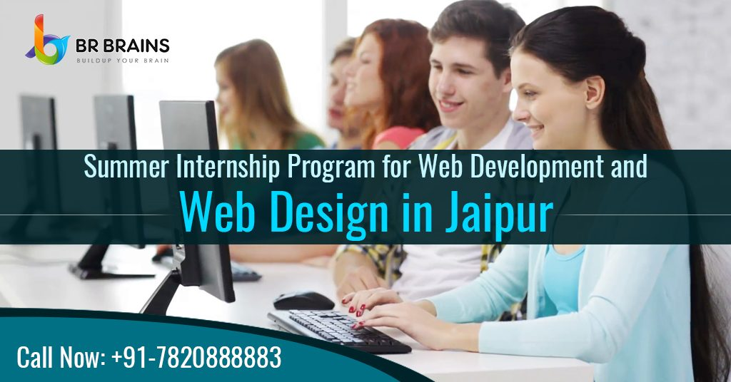 Summer Internship Program for Web Development and Web Design in Jaipur