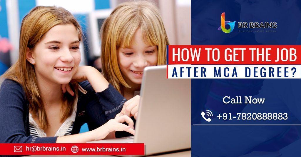 How to get the job after MCA degree