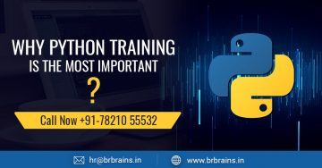Why Python Training is the most important