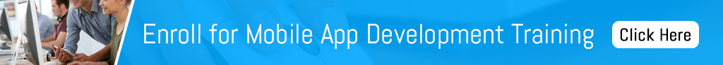 Enroll for mobile app development training